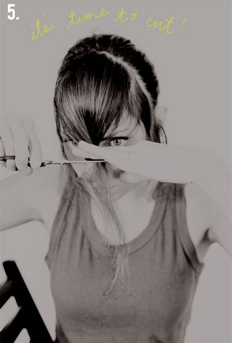how to cut your own bangs over 40 56 best hair bangs images on pinterest
