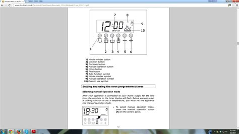 how can take the oven out of auto and set the time on a baumatic bo625ss oven