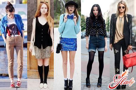 diversi stili di abbigliamento stili di abbigliamento per adolescenti lo spirito di