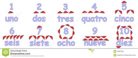 espagnol enfant compter en 1973741784 nombres espagnols pour des enfants photographie stock image 18257202