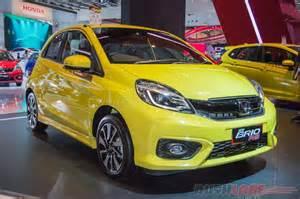 honda brio rs honda brio facelift brio rs yellow 2016 indonesia auto
