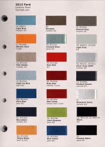 Ford Paint Colors Ford Paint Colors 2017 Ototrends Net