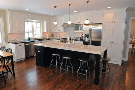 L Kitchen With Island L Shaped Island Kitchens Rectangle Kitchen Island Small
