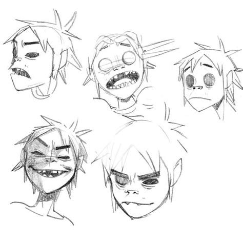 Drawing 2d Characters by Best 25 Gorillaz Ideas On Gorillaz 2d