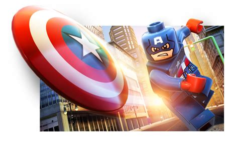 captain america lego wallpaper lego marvel super heroes