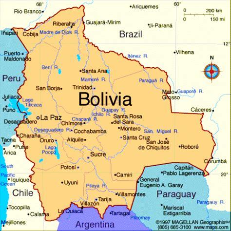 bolivia political map bolivia subway map toursmaps