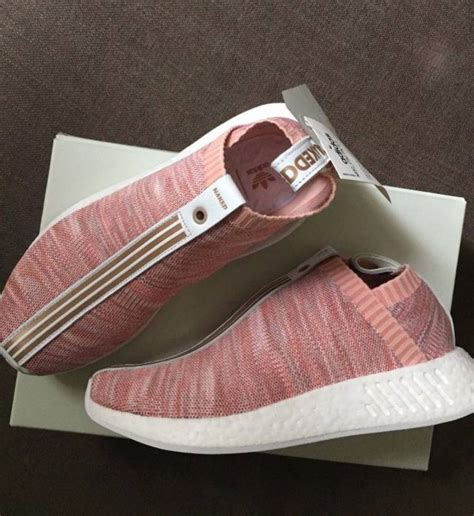 Kith X X Adidas Nmd City Sock 2 Pink Premium Original kith x x adidas nmd city sock 2 pink kixify