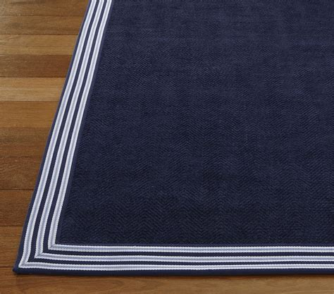 navy border rug navy border chenille rug nautical boy s bedroom