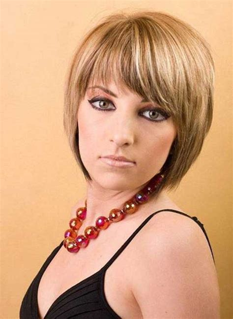 cute layered short blonde bob hairstyle with bangs 20 graduated bob with bangs bob hairstyles 2017 short
