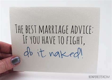 Bride to be funny tips for marriage