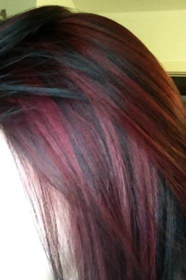 brown hair with red underneath brown hair with burgundy underneath google search hair
