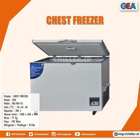 Chest Freezer Ab 600 T C 26c jual ab 396 t x chest freezer gea harga murah di tangerang