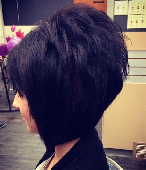 black bob stack hairstyle the full stack 30 hottest stacked haircuts
