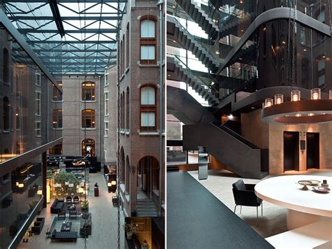 Amsterdam Interior Design by Conservatorium Hotel Amsterdam Martyn White Designs