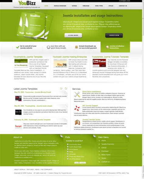 joomla theme generator online web design generator for joomla templates home design ideas
