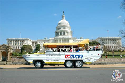 duck boat tours parking dc duck tour discount tickets