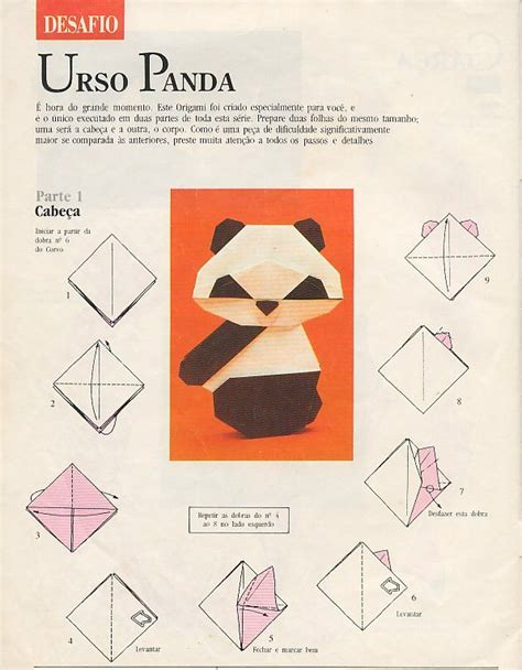 Easy Origami Panda - 17 best images about ursos origami on origami