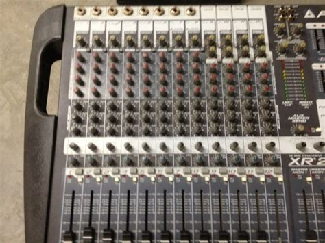 Mixing Console Mixer Peavey Pv8 8channel Limited peavey xr 2012 powered mixer non working reverb