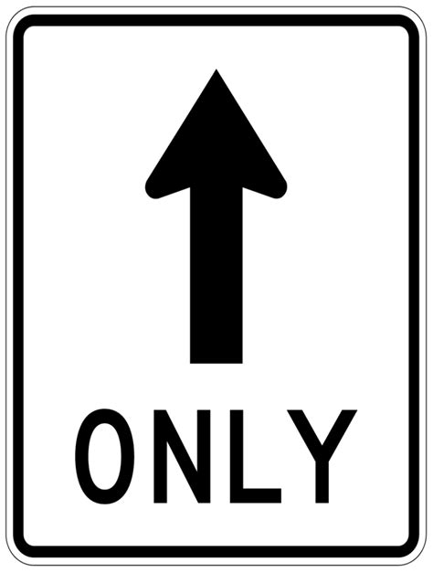 8 Signs Its Only A Rebound by One Way Sign Clip Cliparts Co