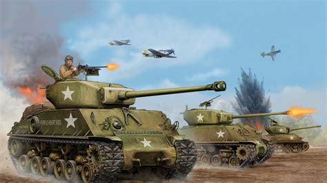 Attack Easy Jumbo 1 2kg 1920x1080 easy usa sherman m4a3 e8 tank tank average