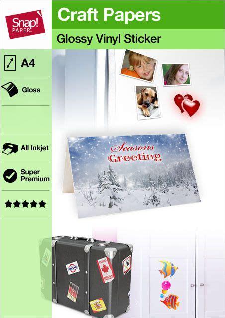 Silhouette Printable Sticker Paper 8 5 X11 8 Pkg Clear