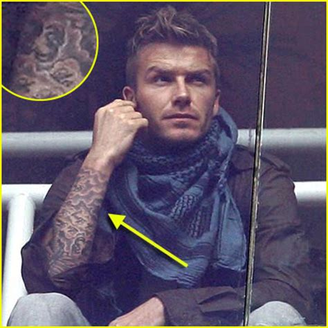 wentworth miller tattoos david beckham s new prison forearm who