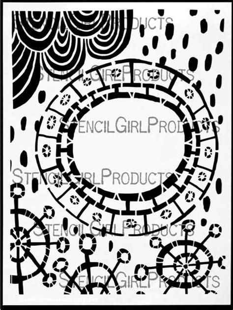 pattern tap alternative wheel in the sky stencil