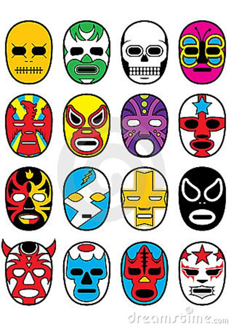 printable luchador masks things i buy in texas lucha masks for my kids
