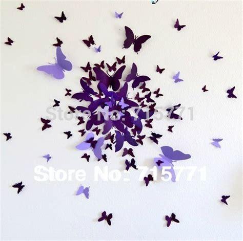 Butterfly Walldecor 40rb 3 new home decoration 90 pcs ebay hotsale 3d butterflies wall stickers butterfly decoration