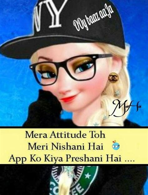 girl attitude shayari in hindi han ji p p fun wd n attitude pinterest logs and ps