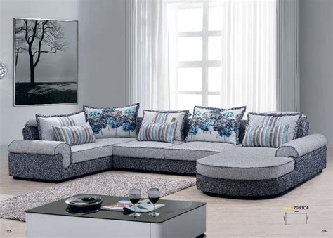 good quality sectional sofas 2033c factory price good quality fabric sofa set living