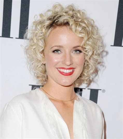 short curly perm styles picture dirty blonde very 17 best images about korte kapsels 50 plussers on