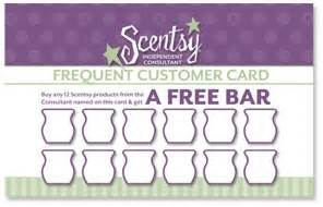 Scentsy Frequent Buyer Card Template by Frequent Buyer Card Template Resume Builder
