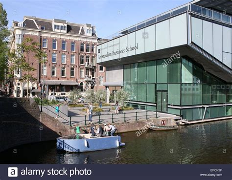 Amsterdam Business School Part Time Mba by Amsterdam Business School At Plantage Muidergracht Canal