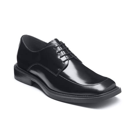 kenneth cole shoes kenneth cole silver merge oxford dress shoes in black for