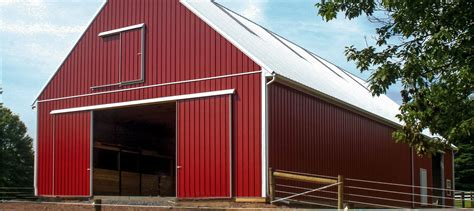 pole barn custom pole barns conestoga buildings