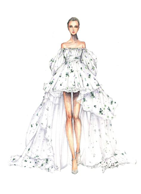 fashion illustration dress design drawings fashion sketches dresses fashion dresses