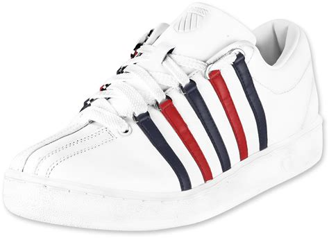 k swiss classic shoes k swiss the classic shoes white navy