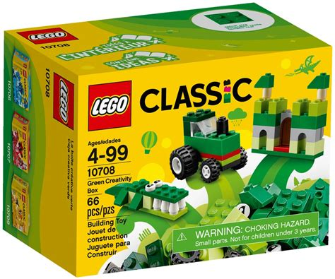 Lego Classic 10708 lego classic green creativity box