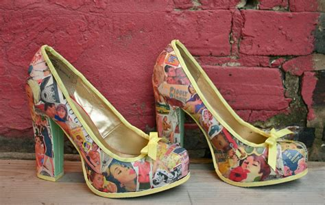 Diy Decoupage Shoes - diy decoupage vintage vibes heel lilbo gnomie