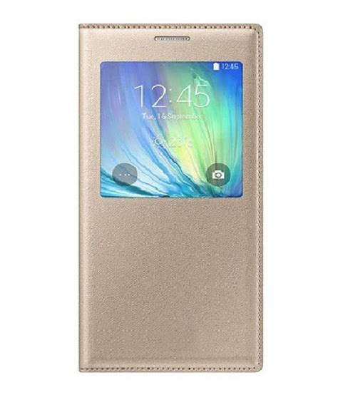 Promo J7 Pro Flip Cover Ori Clear View Plus Standing Flip Mirror J7 mercator flip cover leather for samsung galaxy j7 golden flip covers at low prices