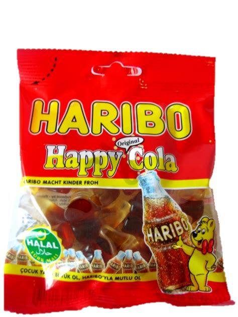 Colla Halal happy cola no artificial colours 100g x 24 by haribo