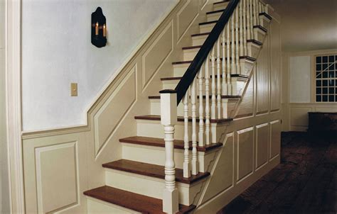 Pictures Of Wainscoting In Dining Rooms by Colonial Authentic Staircases By Sunderland Period Homes