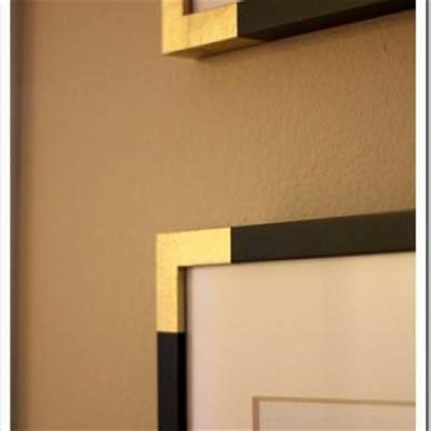 corner picture frame gold corner frames diy picture frames tip junkie