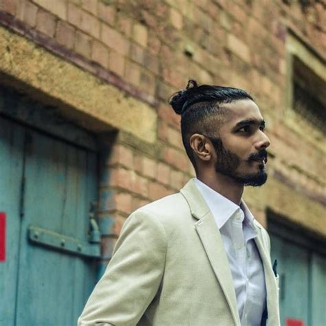 mens ponytails in a suit 40 lovable man bun hairstyle ideas the easy and sexy headdress