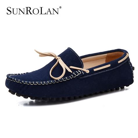 loafers size 12 sunrolan plus size 12 13 loafers suede leather