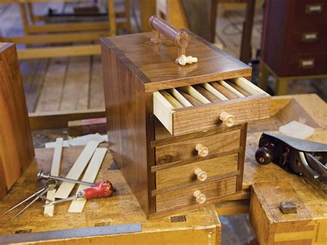 project  drawer tool chest  woodworking blog