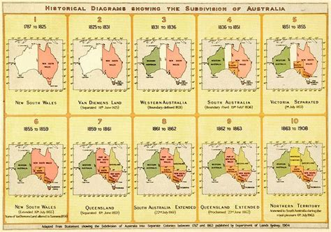 history of new year in australia visual history of australia s territorial evolution for