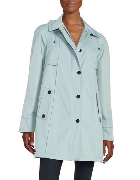 swing raincoat gallery swing raincoat in blue lyst