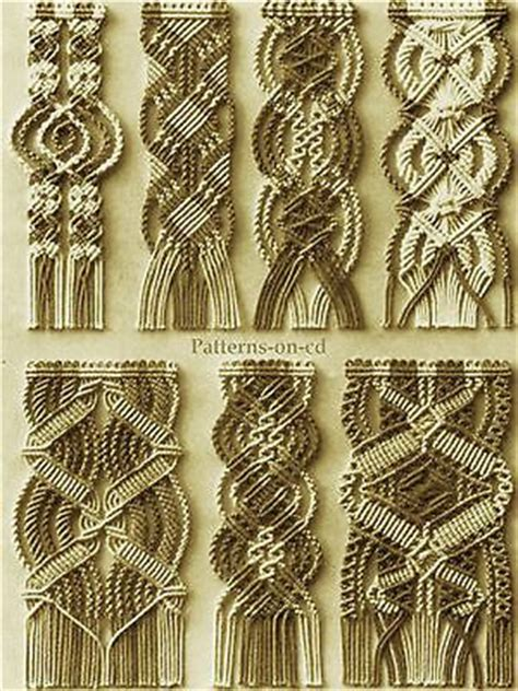 Hemp Weaving Patterns - 25 best ideas about macrame bracelets on